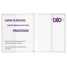 Capas para processos em PVC transparente, cristal ou-em-cores (Ref. CPP)