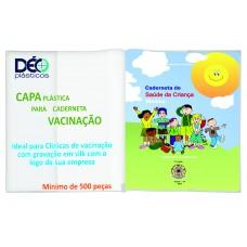 Capas plásticas para carteira de vacinação (Ref. GR002)