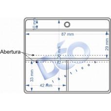 Linha Ortodôntica - Porta periapical com 3 divisões (Ref. 510) - Embalagem com 100 unidades