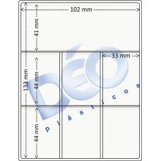Linha Ortodôntica - Porta periapical com 7 divisões (Ref. 514) - Embalagem com 100 unidades