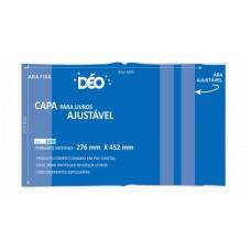 Capas Plásticas P/ livro ajustável  (Ref. 3290 TRS) - Embalagem com 50 unidades