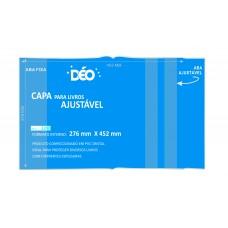 Capas Plásticas P/ livro ajustável  - recomendável p/ livros com altura de 274mm (Ref. 3290 TRS) - Embalagem com 5 ou 50 unidades