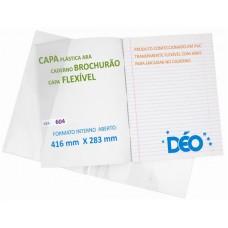 Capas Plásticas P/ caderno brochurão (capa flexível)  (Ref. 604) - Embalagem com 50 unidades