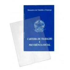 Capas Plásticas P/ carteira profissional / passaporte (antigo) (Ref. 603) - Embalagem com 50 unidades
