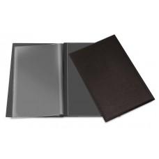 Cardápios e Comandas - C/ 2 divisões - A4 almofadado com gravação em baixo relevo p/ 6 páginas  (Ref. 650)