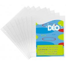 Envelopes de Polietileno 1/2 Ofício - Pacotes Práticos De Envelopes - Fino c/ 3 furos (Ref. 269) - Embalagem com 50 unidades