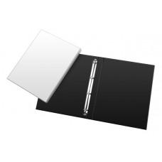 Fichários c/ bolsas para personalização - C/ 4 argolas Ofício - lombo de 40 mm (Ref. 665)