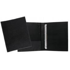 Fichários Ofício Luxo (crocodilo) - C/ 4 argolas. luxo - ofício - lombo de 40 mm (Ref. 652)