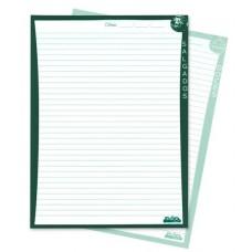 Refil p/ Fichário de Receitas - Blocos para fichário de receitas culinárias c/ 50 folhas (Ref. 937)