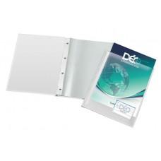 Pasta Catálogo A4 - C/ bolsa p/ encarte e bolsa interna C/ visor, 50 envelopes finos e 4 colchetes (Ref. 432)