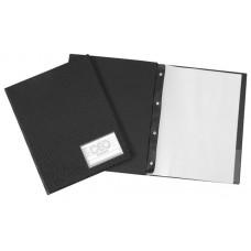 Pasta Catálogo A4 Executiva c/ visor, bolsa interna, 50 envelopes médios e 4 parafusos de metal (Ref. 496)