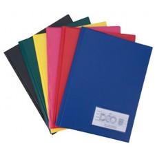 Pasta Catálogo 1/2 Ofício - C/ 50 envelopes médios e 3 colchetes - c/visor (Ref. 210)