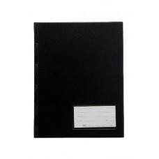 Pasta Catálogo 1/2 Ofício - LUXO C/ visor, 50 envelopes médios e 3 colchetes (Ref. 296)