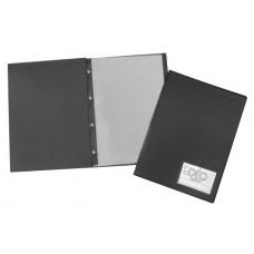 Pasta Catálogo Ofício - C/ visor, 100 envelopes finos e 4 parafusos de plástico (sem bolsa interna) (Ref. 692)