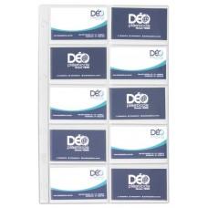 Divisórias Cartão Telefônico - P/ cartões de colecionadores c/ 10 divisões (Ref. 680) - Embalagem com 50 unidades