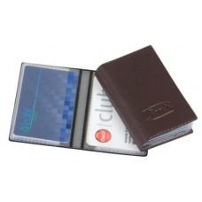 Porta Cartões Pessoal - P/ 14 cartões c/ gravação em baixo relevo (Ref. 772) - Embalagem com 10 unidades