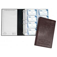 Porta Cartões Profissional - P/ 400 cartões c/ gravação baixo relevo (Ref. 679)