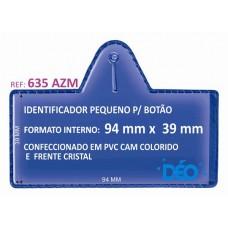 Identificadores p/ Botão - Transparente ou coloridos - Pequeno p/ botão c/ cartão (Ref. 635) - Embalagem com 50 unidades