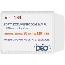 Porta Documentos - S/ impressos ilustrativos - P/ Renavam (Ref. 134) - Embalagem com 50 unidades
