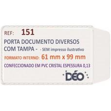 Porta Documentos - S/ impressos ilustrativos - P/ diversos (Ref. 151) - Embalagem com 50 unidades