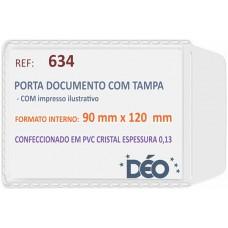 Porta Documentos - C/ impressos ilustrativos - P/ Renavam (Ref. 634) - Embalagem com 50 unidades
