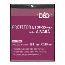 Protetores - Em Quadro - P/ alvará - 1/2 ofício - vertical  (Ref. 686)