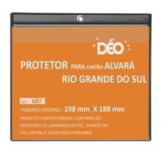 Protetores - Em Quadro - P/ alvará Rio Gde. Sul horizontal (Ref. 687)