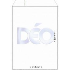 Protetores Transparentes - C/ aba - tipo envelope - C/ tampa - A4 (Ref. 418) - Embalagem com 50 unidades